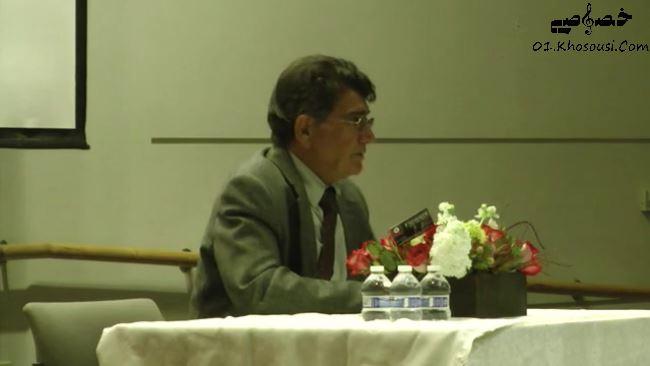 سخنرانی محمدرضا شجریان در دانشگاه کالیفرنیا، ایرواین