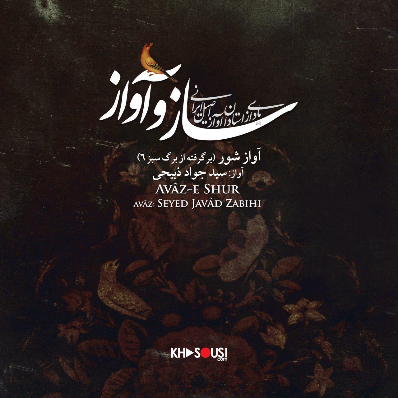 ساز و آواز – آواز شور از برگ سبز ۶ – سید جواد ذبیحی