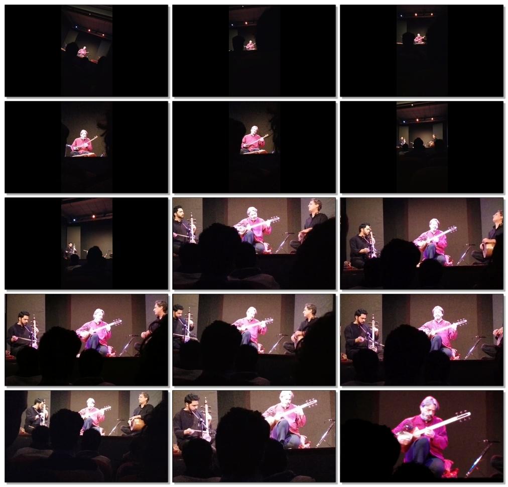 کنسرت تصویری رم - حسین علیزاده، صبا علیزاده و بهنام سامانی