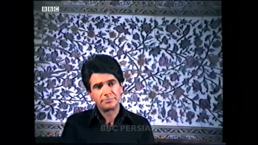 مصاحبهی تصویری اکبر ناظمی با محمدرضا شجریان در سال ۱۳۶۲