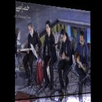 مجید درخشانی، محمد معتمدی و گروه بامداد در آرامگاه سعدی