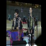 قسمتی از اجرای مجتبی عسگری و گروه نقش در فستیوال ترانهی شرقی