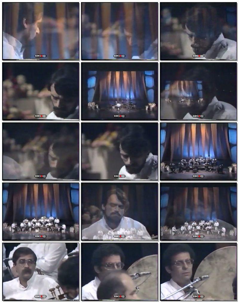 بخش اول کنسرت شورانگیز - حسین علیزاده و گروه شیدا و عارف