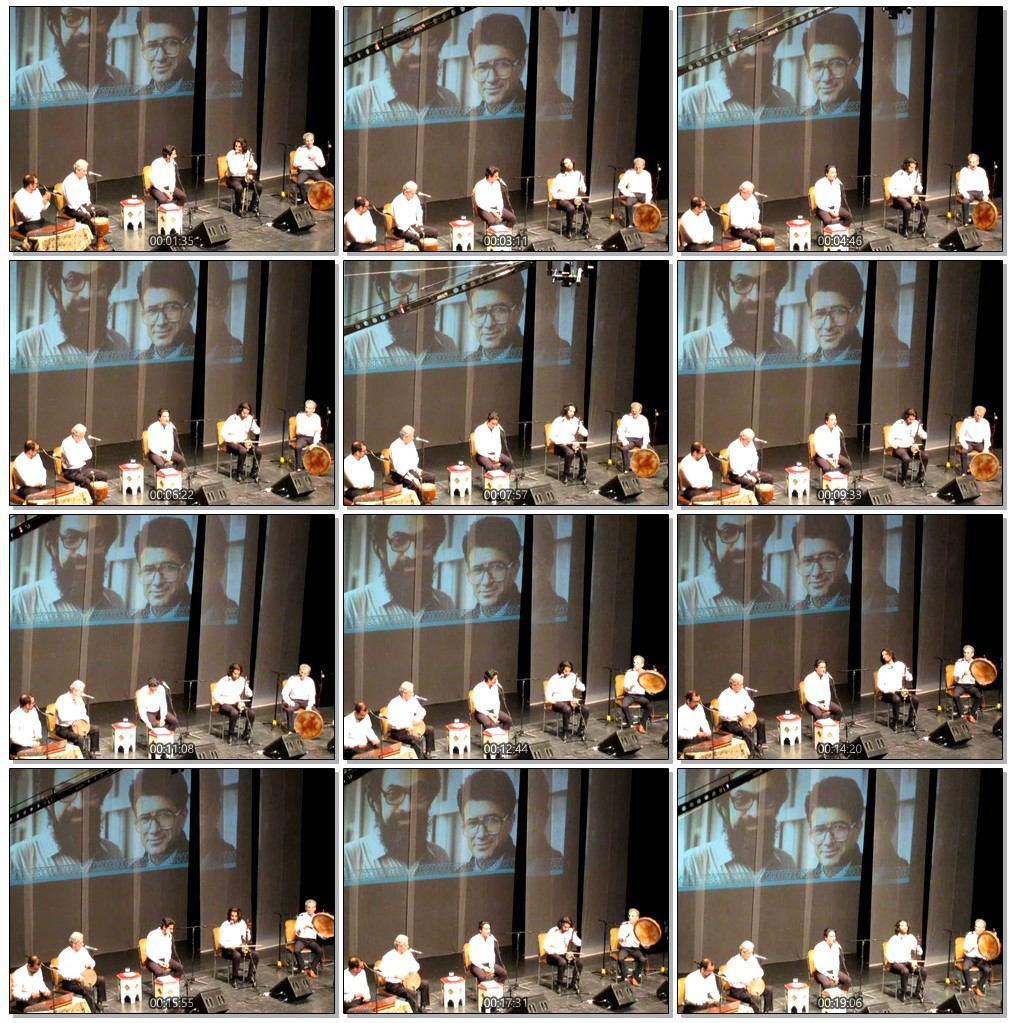 اجرای همایون شجریان در آئین رونمایی از آلبوم طریق عشق - تصویری