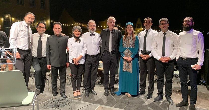 کنسرت ارکستر پردیس در فستیوال رودالشتات آلمان - اثری از حمید متبسم